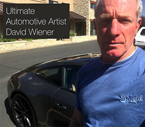 Suxtil Motorsports Fashion Says: You Need To Know The Ultimate Automotive Artist David Wiener
