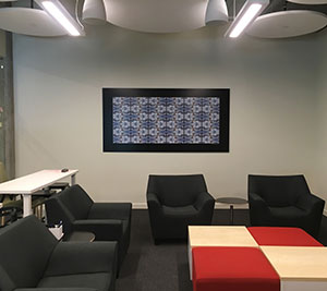 AVASIS Technology Installs Major Art Commission By David Wiener For Corporate Headquarters